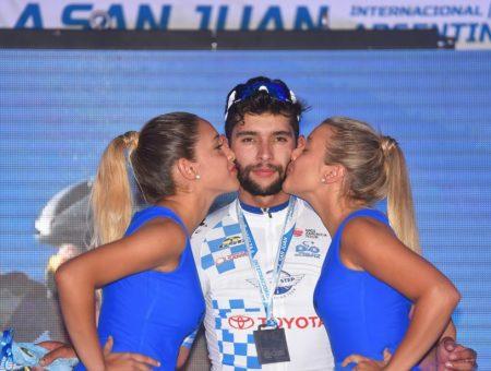 GSG è Sponsor Delle Maglie di Leader della Vuelta a San Juan