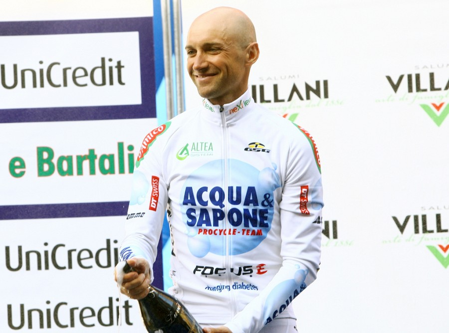 Today It Happened To Stefano Garzelli Reached The Third Step Of The Podium,  After The Second Place For Di Luca ...