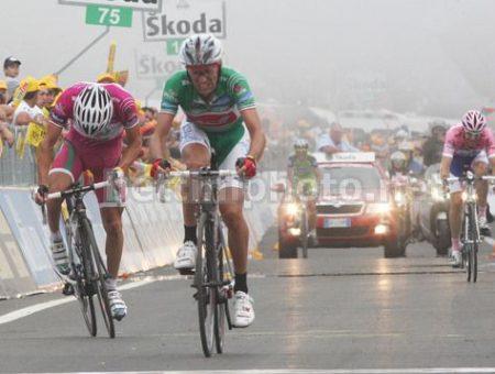 GSG maglia verde al Giro del Centenario con Stefano Grazelli