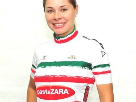 Ingrid Drexel – Pasta Zara-Cogeas-Manhattan GSG – gana Panamericano Campeonato de contrarreloj individual