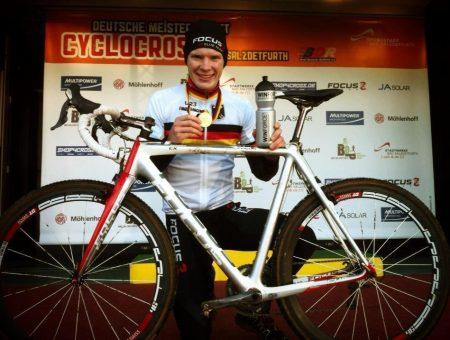 GSG Focus Elite XC Elite team tienes un nuevo campeón nacional de ciclocross