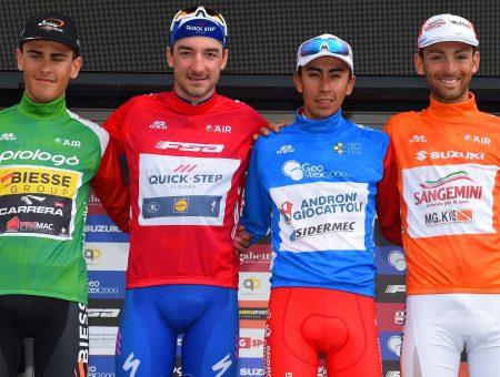 Adriatica Ionica Race coronó Sosa y Viviani