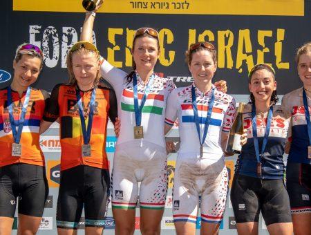 Il team femminile Ghost Factory Mtb ha vinto la Epic Israel