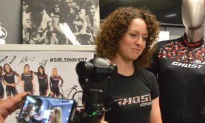 Anne Terpstra – Ghost Factory MTB Team – in visita a GSG