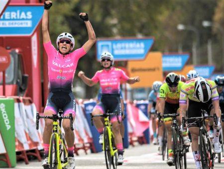 """Team Valcar """"domina"""" gli sprint de La Vuelta femminile"""