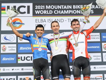 Diego Arias – Giant Polimedical Team – silver medal at marathon world championship in Capoliveri